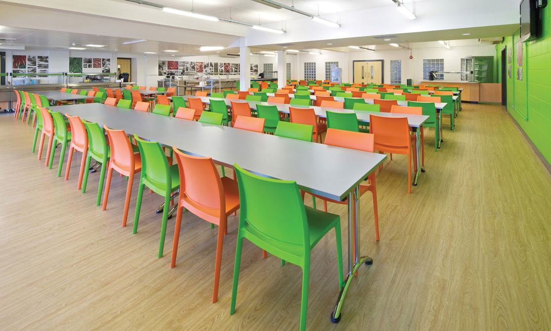 University College Student Canteen Furniture