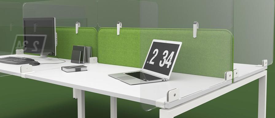 Social distance office screens
