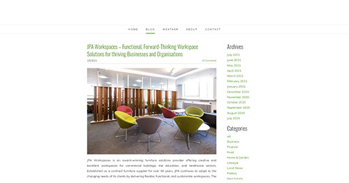 JPA Workspaces – Functional Forward-Thinking Workspace Solutions for thriving Businesses and Organisations