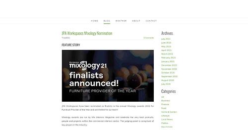 JPA Workspaces MixologyNomination