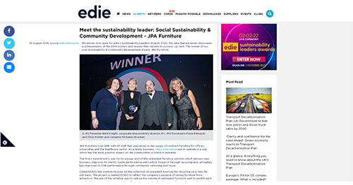 Meet the sustainability leader -Social Sustainability & Community Development - JPA Furniture