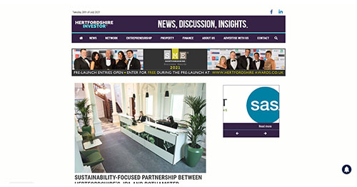 SUSTAINABILITY-FOCUSED PARTNERSHIP BETWEEN HERTFORDSHIRE'S JPA AND ROTHAMSTED ENTERPRISES - Hertfordshire Investor